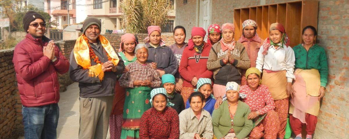 Výroba Everest Ayurveda v Káthmandu